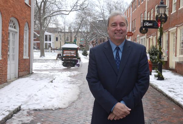 newburyport: Former city Counselor Greg Earls. Jim Vaiknoras/staff photo