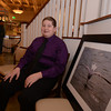 Salisbury: William Dow poses with his award winning photograph at Seaglass in Salisbury. Jim Vaiknoras/staff photo