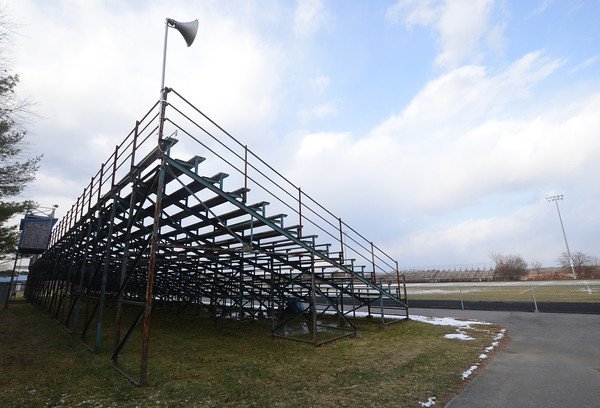 Byfield: The stand and football field at Triton high School. jim Vaiknoras/staff photo