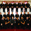 Matthew Houle, second row, third from right, is the Newburyport Fire Department's newest certified firefighter.