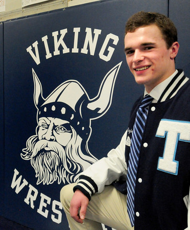 Byfield: Triton wrestling standout Mark Boyle. Bryan Eaton/Staff Photo