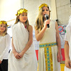 Amesbury: Cashman Elementary Schools in Amesbury had their own Olympics, holding their own opening ceremonies on Friday with Greek Gods from Mt. Olympus. They held games throughout the day in various areas of the school. Bryan Eaton/Staff Photo