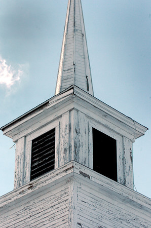 Seabrook: The Old South Meetinghouse in Seabrook had new roofing installed several years ago, but much of the structure is in need of repair. Bryan Eaton/Staff Photo