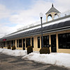 Salisbury: These empty units in the Elm Street plaza which houses Simon's Roast Beef in Salisbury will be the temporary home of the Salisbury Public Library. Bryan Eaton/Staff Photo