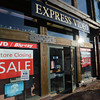 Newburyport: Express Video in the Tannery in Newburyport will be closing. Jim Vaiknoras/staff photo