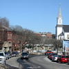 Amesbury: Market Square in Amesbury. Jim Vaiknoras/staff photo