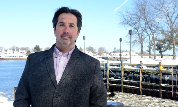 JIM VAIKNORAS/Staff photo NRA chairman Tom Salemi.