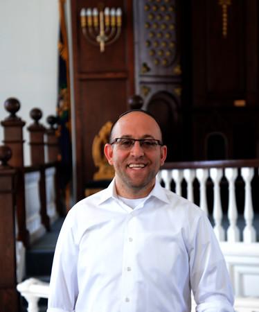 JIM VAIKNORAS/Staff photo Rabbi Avi Popko of the Congregation Ahavas Achim.