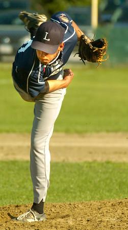 BRYAN EATON/ Staff Photo. Lawrence pitcher Jose Martinez.
