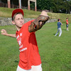 JIM VAIKNORAS/Staff photo Jake Valcich, 14, practices at Pettigill Field in Newburyport with his teammates.