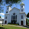 JIM VAIKNORAS/staff photo  The Belleville Chruch in Newburyport built in 1761.