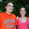 BRYAN EATON/ Staff Photo. Pentucket twins Josh and Paige Wesolowski will be seniors this fall.
