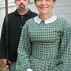 BRYAN EATON/ Staff Photo. Civil War re-enactors Bill and Liz Hallett.