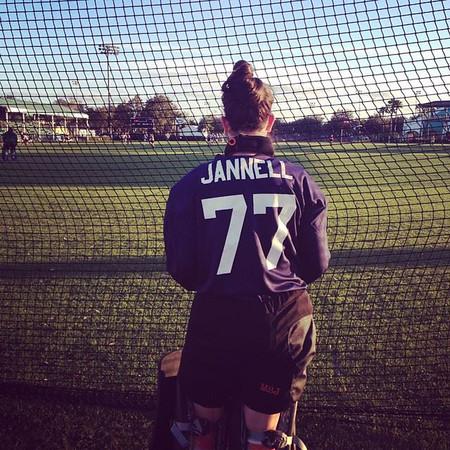 Georgetown rising senior Molly Jannell a field hockey goalie