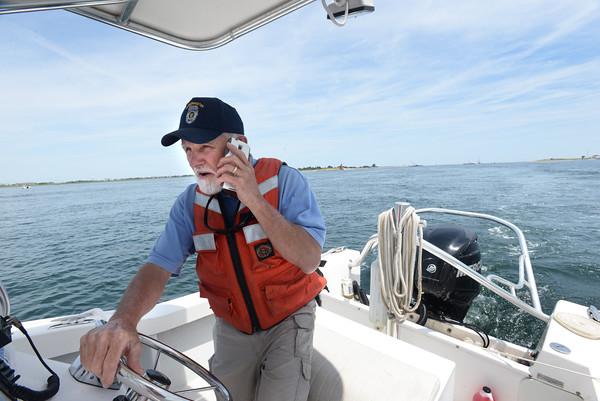 BRYAN EATON/Staff Photo. Salisbury Harbormaster Ray Pike.