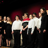 "Amesbury: Amesbury High School's vocal ensemble ""Rhythmics"" lead attendees to the Mayoral Inauguration in the ""Star Spangled Banner."" Bryan Eaton/Staff Photo"