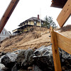 Newbury An effort is underway to preserve the landmark Bennett Hill cottage on Plum Island which has been spared in large part from major erosion until last week's storm. Bryan Eaton/Staff Photo