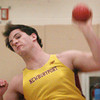 Ipswich: Newburyport's Drew Beaupre in the shot put. Bryan Eaton/Staff Photo
