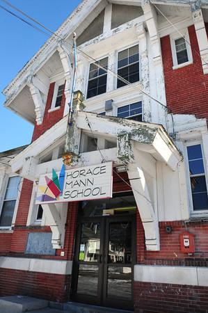 Amesbury: Amesbury's Horace Mann School on Congress Street hasn't held classes for many years. Bryan Eaton/Staff Photo