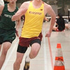 Ipswich: Newburyport's Tom Graham in the 300 yard. Bryan Eaton/Staff Photo