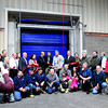 Amesbury: Shaheen Bros. Inc. food service company owners and employees and community officials celebrated the opening of their new freezer. The 14,800 square foot facility will greatly increase their storage capacity which will keep temperatures at six degrees farenheit and has a state-of-the-art  high speed insulated door/. Bryan Eaton/Staff Photo