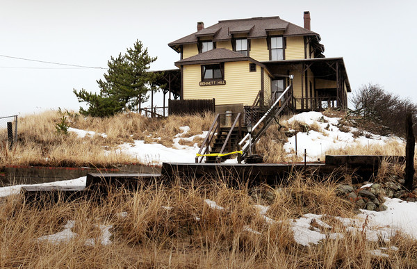 Newbury: An effort is underway to preserve Bennett Hill cottage on Plum Island which was originally known at the SImpson Home when built in the later part the 1800's. Bryan Eaton/Staff Photo
