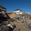 Newbury: Damage to 35 Southern Doulevard on Plum Island caused by Friday's storm. Jim Vaiknoras/staff photo