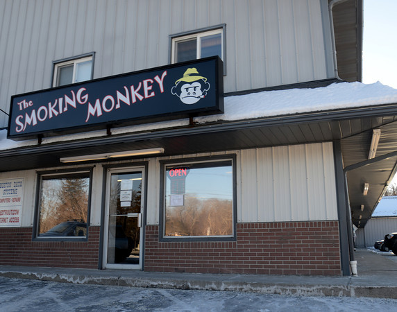 Seabrook: The Smoking Monkey in Seabrook. Jim Vaiknoras/staff photo