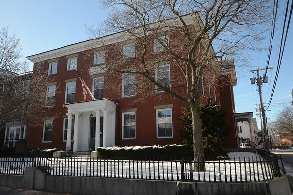 Newburyport: The Newburyport Public Library. Jim Vaiknoras/staff photo
