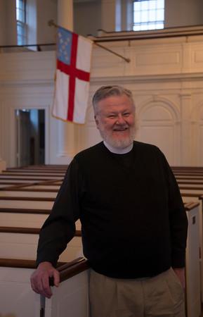 Newburyport: Rev Ollie Jones of St Paul's Church in Newburyport is this years winner of the Nancy Peace Awards. Jim Vaiknoras