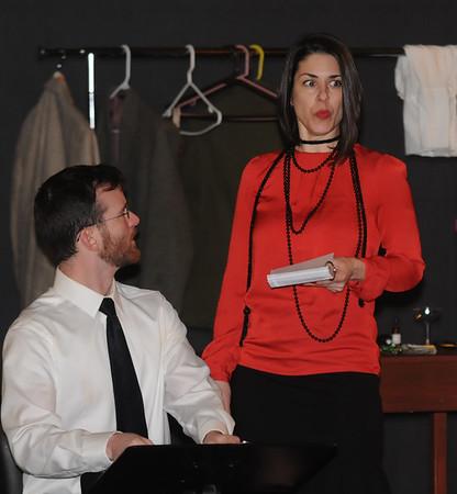 JIM VAIKNORAS/Staff photoTim Gurczak and Gina Colombo in Encore, Encore at the Firehouse Newburyport