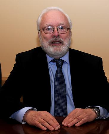 JIM VAIKNORAS/Staff photo Ed Ramsdell Chairman of teh Newburyport Board of appeals.