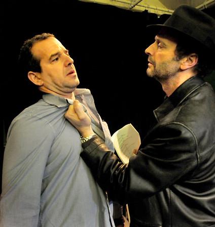 BRYAN EATON/Staff Photo. Jason Novak and Steve Faria as Frank and Sal.