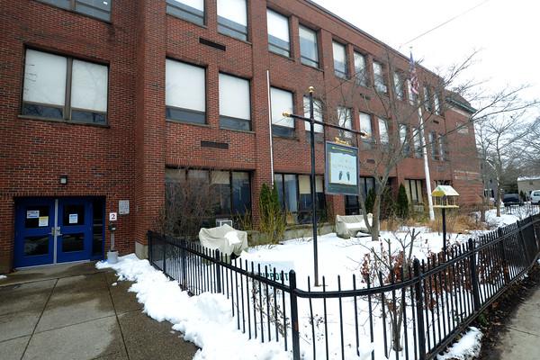 JIM VAIKNORAS/Staff photo Site of the Brown School in Newburyport.