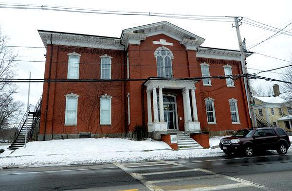 JIM VAIKNORAS/Staff photo Site of teh former Kelley School in Newburyport