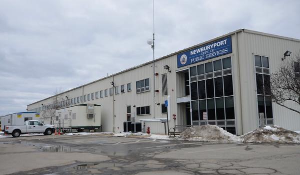 JIM VAIKNORAS/Staff photo The Newburyport Public Service building
