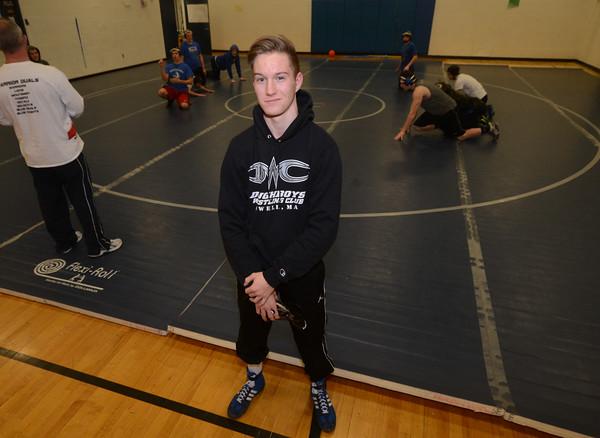 JIM VAIKNORTAS/Staff photo Georgetown wrestler Carsten LaPlante