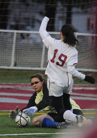 Lowell:  The Clippers beat Bedford 2-1 in OT  giving them their 3rd straight North Sectional Title. photo by Jim Vaiknoras/Newburyport Daily News Sunday November 16, 2008<br /> , Lowell:  The Clippers beat Bedford 2-1 in OT  giving them their 3rd straight North Sectional Title. photo by Jim Vaiknoras/Newburyport Daily News Sunday November 16, 2008