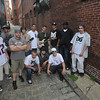 Newburyport: Some of the performers that will be Grog Thursday night July 16 in Newburyport fo Hip-Hop Night presented by Four Reel Records. Jim Vaiknoras/ Staff photo