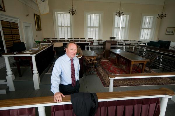 Judge Richard Welch at Newburyport Superior Court<br /> Jim Vaiknoras/staff photo
