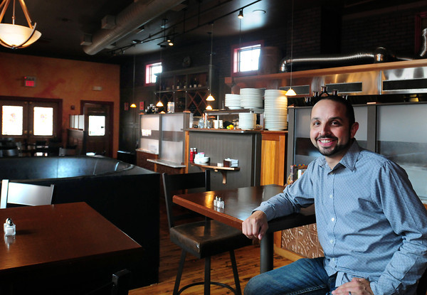 Amesbury: Sean Toomey took over as proprietor of Crave restaurant in Amesbury last month. Bryan Eaton/Staff Photo