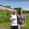Newbury: Niall Robinson and Erin Stack have partnered to take over Iron Moon Farm in Newbury. Bryan Eaton/Staff Photo