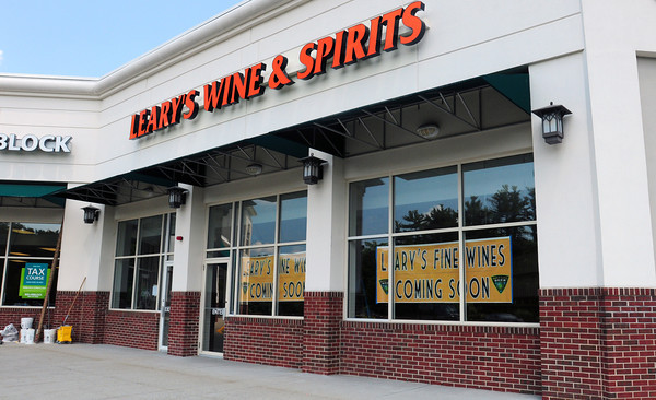 Amesbury: Leary's Wine and Spirits is opening a second location at Carriagetown Plaza in Amesbury. Bryan Eaton/Staff Photo