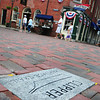 Newburyport: Granite markers around Newburyport are part of the city's Clipper Heritage Trail. Bryan Eaton/Staff Photo