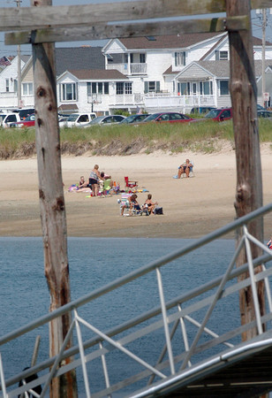 Seabrook: Many people like to go to Seabrook Beach on the Atlantic Ocean, but some also hit the beach on the harbor side which has rest rooms and stores nearby. Bryan Eaton/Staff Photo