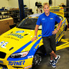 Amesbury: Turner Motorsports owner Will Turner of Amesbury with one of his cars racing in Indianapolis next weekend. Bryan Eaton/Staff Photo