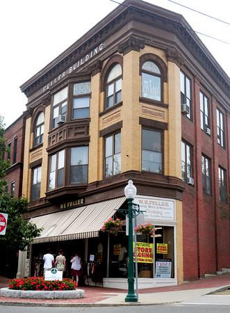 Amesbury: The landmark Fuller Building in downtown Amesbury has been sold. Bryan Eaton/Staff Photo