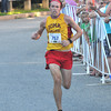 Newburyport: Pat Fullerton wins the Yankee Homecoming 5k. Jim Vaiknoras/staff photo