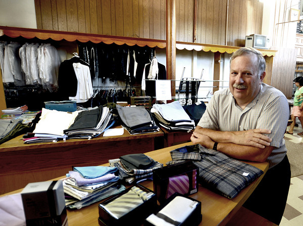 Amesbury: Ron Fuller relaxes in his store W E Fuller Co, in Amesbury. Ron is retiring and closing the store whichh has been in business since 1894. Jim Vaiknoras/staff photo