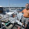 newburyport: Jonathan Van Campen and The Ninth Wave along  Newburyport Waterfront. Jim Vaiknoras/staff photo